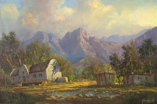 Gabriel de Jongh; Near Gouda, Cape