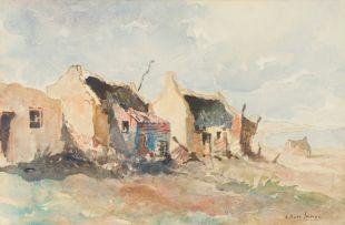 Alexander Rose-Innes; Fishermen's Cottages