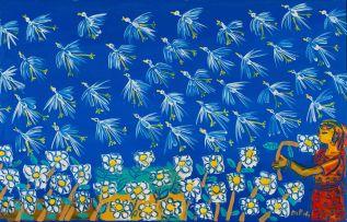 Walter Battiss; Birds and Flowers