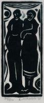 Ezekiel (Boycie) Madiba; Two Figures