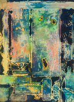 Wopko Jensma; Abstract in Blue