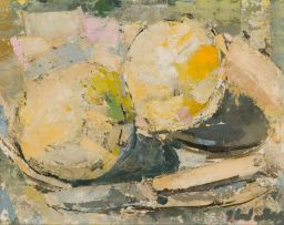 Jean Welz; Still Life with Grapefruit and Knife