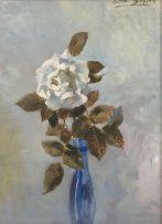 Errol Boyley; A White Rose in a Blue Bottle