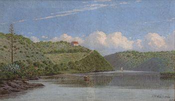 Jan Ernst Abraham Volschenk; The Kaffirkuils River near Still Bay