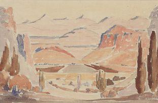 Jacob Hendrik Pierneef; Golden Gate, O. Vrystaat