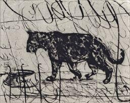 William Kentridge; Pacing Panther