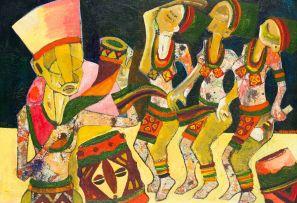 Speelman Mahlangu; Dancing Figures