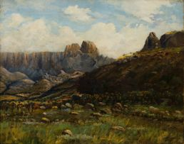 Cathcart William Methven; The Western Buttress, Mt-Aux Sources National Park