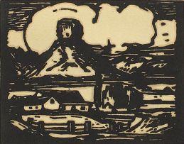 Jacob Hendrik Pierneef; Die Sfinks, Fouriesburg (Nilant 58)