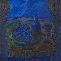 Jan Vermeiren; Still Life with Grapes