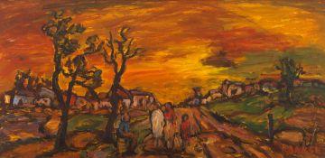 Kenneth Baker; Country Sunset