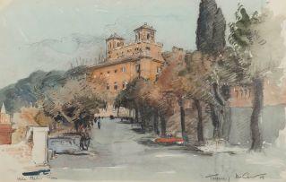 Terence McCaw; Villa Medici, Roma