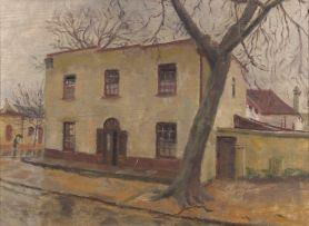 Siegfried Hahn; House in Dorp Street, Stellenbosch