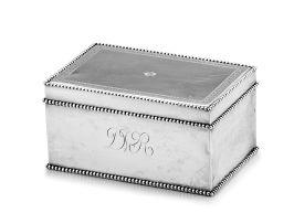 A Dutch silver covered box, Pieter van Riedt, Amsterdam (1784-1801) 18th century