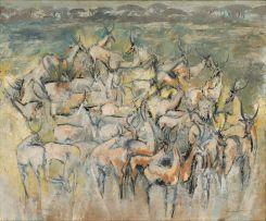 Gordon Vorster; Herd of Waterbuck