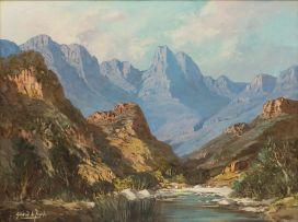 Gabriel de Jongh; Du Toit's Kloof Pass, Cape