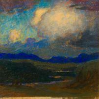 William Timlin; Sunset over the Polela River, Natal