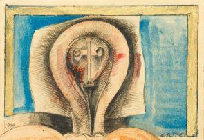 Cecil Skotnes; Icon, postcard