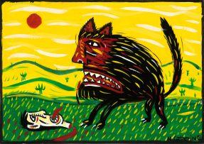 Norman Catherine; The Kill, postcard