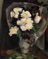 Maud Sumner; Roses in a Vase