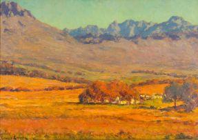 Edward Roworth; Autumn near Stellenrust, Stellenbosch District