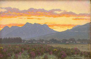 Jan Ernst Abraham Volschenk; Evening: George