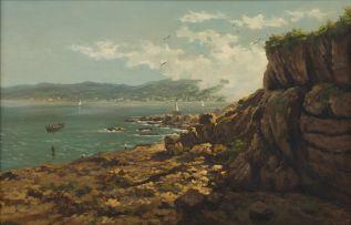 Gino (Giovanni) Fasciotti; Coastal Scene