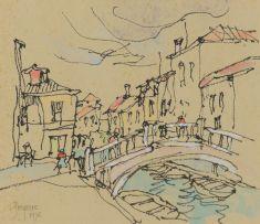 Gregoire Boonzaier; Ponte dei Pugni, Venice