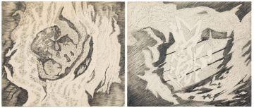 Eugene Labuschagne; Pencil Sketches, two