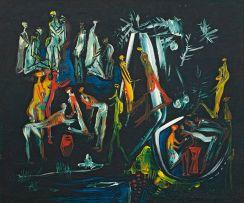 Walter Battiss; Jungle Pool