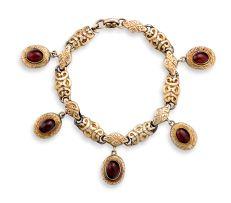 19th century gold bracelet
