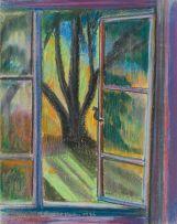 Leonora Everard-Haden; View through a Window