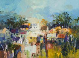Margaret Gradwell; Village Scene