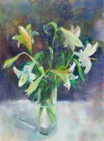 Louis van Heerden; White Lilies