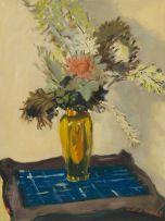 Walter Westbrook; Vase of Flowers