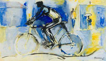 Gerard Sekoto; The Cyclist