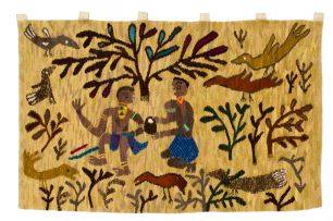 Rorke's Drift; Figures, Birds and Animals