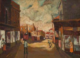 Gustav Beukes; Street Scene
