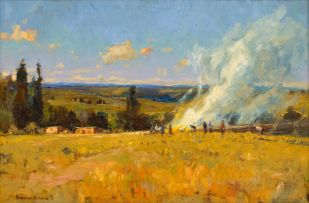 Adriaan Boshoff; Burning Field