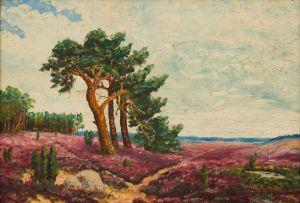 Stefan Ampenberger; Trees on a Hill