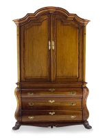 A Cape stinkwood and fruitwood armoire, 19th century
