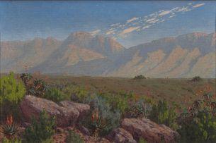 Jan Ernst Abraham Volschenk; Langeberg Mountain Landscape