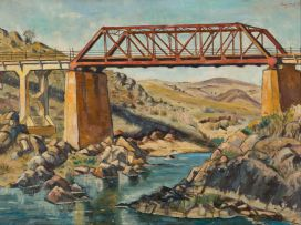 Eugene Labuschagne; Railway Bridge