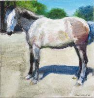 Clare Menck; Horse, Grey