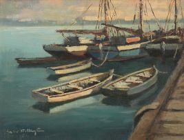 George William Pilkington; Harbour