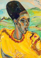 Irma Stern; Congo Woman
