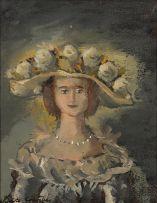 Christo Coetzee; Bride in Hat
