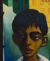 Johannes Meintjes; Boy in Street