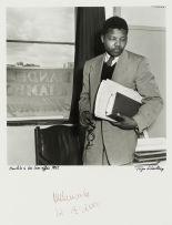 Jürgen Schadeberg; Mandela in his Law Office, 1952