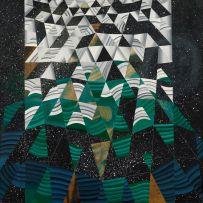 Linda Caroll; Abstract Composition